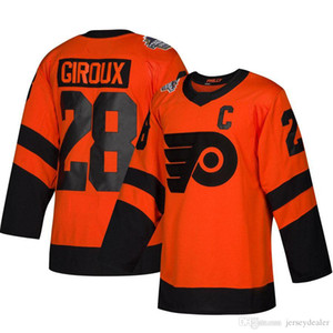 Wholesale parent child clothing for sale - Group buy 28 Claude Giroux Stadium Series Jerseys Men Philadelphia Flyers Women Youth Parent child clothing Claude Giroux All Stitched