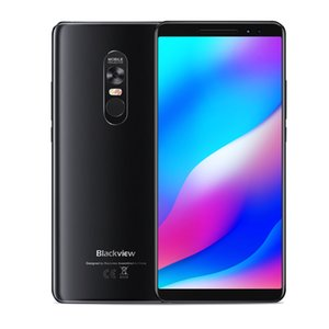 "Laser Projector Blackview MAX 1 6GB 64GB Octa Core MTK6763T Android 8.1 6.01"" AMOLED Full Screen FHD+ NFC Fingerprint 16MP Camera Smartphone"