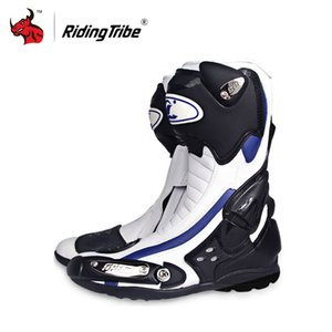Riding Tribe Speed Motorcycle Boots Outdoor Sports Racing Shoes Boots Motocross Off-Road Motorbike