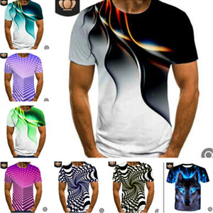 Wholesale tshirts boys for sale - Group buy M XL D Design Print Men s T shirt Summer Short Sleeve Tee Sweat Shirt Sports Joggers Casual Tshirts Quick Dry Trend Tops Colors LY617