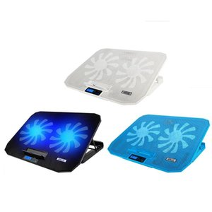ICE COOREL N106 Laptop Cooler Dual Fan Notebook Pad Stand for 12-15.6 inch on Sale