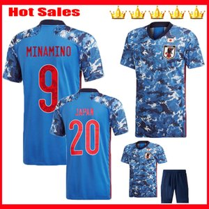 Wholesale Men kids japan soccer jerseys home MINAMINO camisetas team KAGAWA HONDA NAGATOMO OKAZAKI ATOM KUBO jersey football shirt
