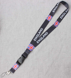 British flag Badge Lanyard for Keys ID Case Holders Phone Straps for union jack