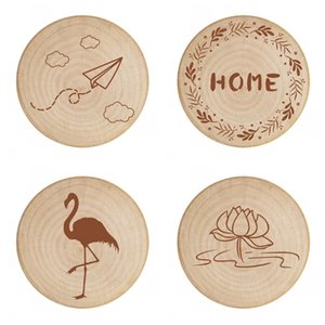 Wholesale Cat Dog Design Magnetic Paste Flamingo Red Wine Bottle Opener Home Fridge Sticker Wooden Multiple Styles cn C1