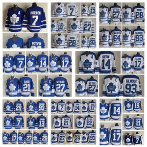 maillot de throwback achat en gros de-news_sitemap_homeMode Rétro Maple Leafs de Toronto Maillots Lanny Mcdonald Tiger Williams Bruce Boudreau Wendel Clark Mens Cousu Throwback Hockey Maillots
