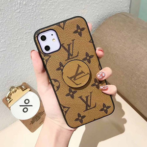 Wholesale For iphone Pro Max Pro fashion luxurious With stand Phone Case for iphoneX XS XR plus plus s Brand Skin protective Cover