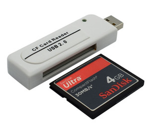L46 USB CF Compact Flash Card Reader Writer Adapter Vista!