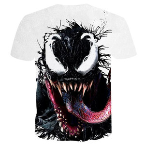 Wholesale Venom T shirt D Printed Sports Clothes Men Women Summer Casual Tee Marvel T shirts