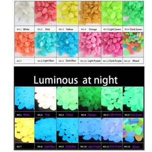 Multi Color Bright Luminous Stone Aquarium Fish Tank Landscaping Luminous Stone Luminous Stone Courtyard Backyard Park Garden Decoration on Sale