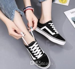 Wholesale black white YACHT CLUB MARSHMALLOW fashion skate casual shoes Original old skool hi mens womens canvas sneakers shoes