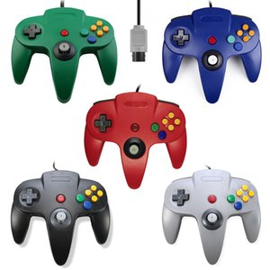 Wholesale Gamepad for N64 Game Controller Wired Game Controller Joystick Gamepad With Precision Analog Control 10 Buttons Vibration Z-trigger