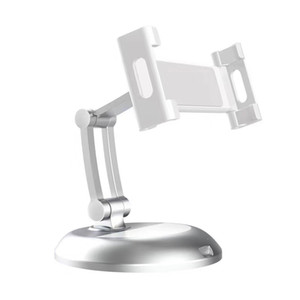 Solid Aluminium Alloy Adjustable Desktop Stand Holders for Tablets & Smartphones holders