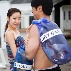 10L Outdoor Waterproof Storage Dry Bag Outdoor Swimming Sports Big Capicity Capable Unisex PVC Bags Hot Sale K155