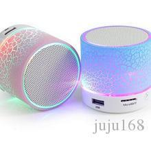 Wholesale mini smartphone speakers for sale - Group buy LED A9 Portable Wireless Bluetooth Speaker Mini Hands Free Crack Bluetooth Speakers Support Music USB with LED lights for iPhone Smartphone