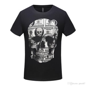 Wholesale Drummer T Shirt Men s Drums Kit Metal Rock Skull Men s Music Musician Percussion Tee
