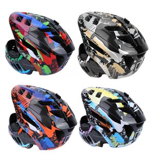 Wholesale Bicyle Bicycle HelmetGUB Kids Head Protector Children Scooter USB Charging Bicycle Light Helmet Roller Safety Hat Parts