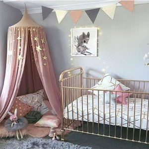 Wholesale Baby Bedroom Decoration Children s room Pentagram Decoration Tent Bed Curtain Mosquito Net Hanging Room Wall Hanging Bedding Set