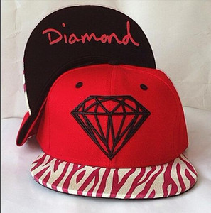 2019 new diamond bone Snapback Baseball Snapbacks 5 panel Adjustable Snap Back Hats Womens Mens Flat Caps Hip Hop Caps Cheap Sports Hats