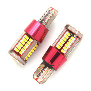 10X T10 168 192 W5W 57 SMD 3014 LED Canbus No Error Car Marker Light Parking Lamp 57smd Motor Wedge Bulb White Red Blue Green Yellow