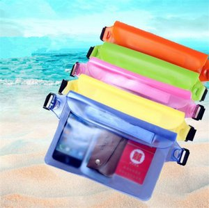 Wholesale Universal Waist Pack Waterproof Pouch Case Water Proof Dry Bag Underwater Pocket Cover For Cellphone mobile phone Samsung iphone money