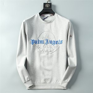 Wholesale Fashion Palm Angels Brand Hoodies Mens MCLER Designer Streetwear Sweatshirts High Quality Autumn WINTER Women Hip Hop Cotton Luxury Hoodie