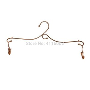 Wholesale hot sale new Metal Lingerie Hanger Bra Hanger Underwear Hanger Drying Rack With Clothes Pins cm
