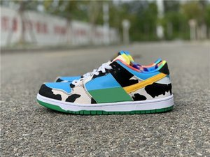 2020 New Ben & Jerry's low white Men Running Shoes women Fashion High Quality Sports sneakers trainers with box best hot 36-45