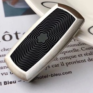 Fashion style Luxury men money clips with rubber stainless steel material good quality no have box