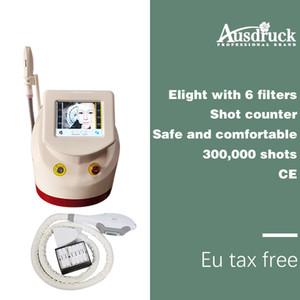 Desktop EU tax free Pro fast SHR IPL Opt Laser Hair Removal Elight Skin rejuvenation Treatment Machine beauty alexandrite laser device New