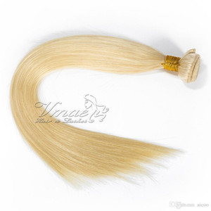 12A Unprocessed Full Cuticle Soft Smooth Straight 613 Blonde Brazilian Natural Bundles Raw Virgin Human Hair Extension