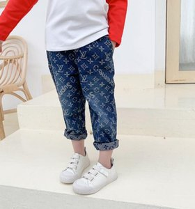 Wholesale kids Pants New Blue Jeans Fashion Children New Year Gift