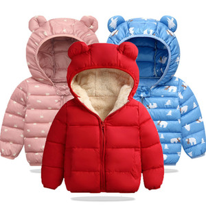Wholesale Winter Infant Jacket 2019 Autumn Newborn Jackets For Girls Coat Kids Warm Outerwear For Boys Jackets Baby Coat Children Clothing
