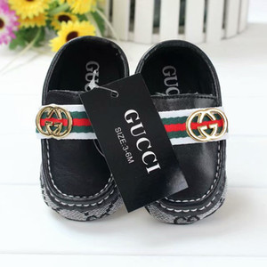 Wholesale Hot Sell Newborn Baby Boys Girls Soft Bottom Shoes Casual Children First Walkers Kids Loafers Toddler Shoes Infant Jogging Flat Shoes