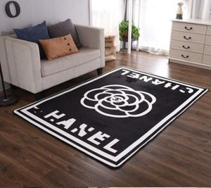 Wholesale Creative unique rectangular bedroom bedside original carpet fashion brand personality porch corridor anti slip rug ins hot customized