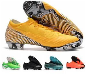 High Ankle Football Boots Mens Mercurial Superfly VI 360 Elite Neymar FG Soccer Shoes Superfly CR7 Outdoor ACC World Cup Soccer Cleats