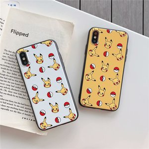 Wholesale Yellow Pikachu Case for iPhone S Cartoon Hero Animal Cover For iPhone X Plus Xs Xr Kids Girls Teens Boys Man Unique Character