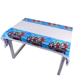 1pc 180*108cm The Disposable Table Cloth Map Home Tablecloth Tablecover For Kids Boy Girl Birthday Party