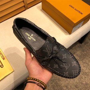 Wholesale 19ss Luxury Brands Genuine Leather Penny Loafers Men Big Size Cow Leather Loafers Slip On Flats Men Moccasin Shoes Mocasines Hombre