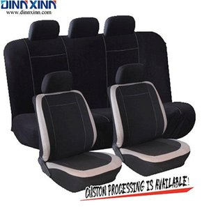 Wholesale DinnXinn 110043F9 Lincoln 9 pcs full set PVC leather leather car seat covers factory from China