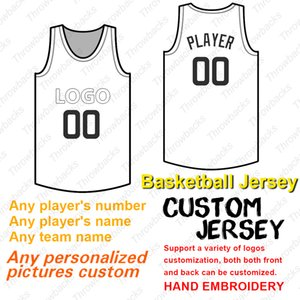 2019 Custom Basketball Jersey Add Team Name Number Player Name Flex Base Cool Base Stitched Size S-XXXL Red White Gray Navy Black on Sale