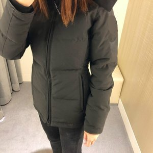 Wholesale Top quality winter women Down coat Parkas WITH HOOD Snowdome jacket Real wolf fur Collar White Duck GOOSE Outerwear Coats