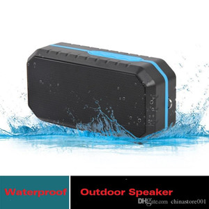 Wholesale good mp3 players resale online - Outdoor Waterproof Wireless Speaker Newest Bluetooth HIFI MP3 Player Hiking Sports Portable Riding Music Players Big Sound Good Quality