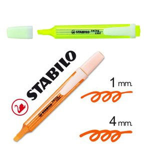 Wholesale Swing Cool Highlighter Marker Pen Fluorescent Colours kawaii mm Mini Pocket Size Water Based Portable Art Drawing