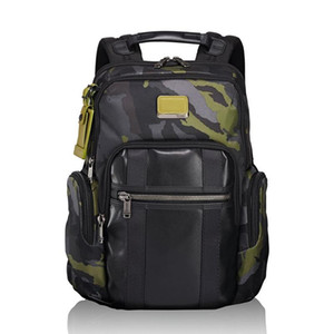 2019 TUMI Ballistic nylon ballistic waterproof backpack tumi -18 years new Alpha Bravo 15 inch computer bags Sport Outdoor Packs