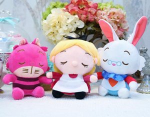 Wholesale Alice in Wonderland High Quality Plush Doll Soft Carton Cute Fashion Series Stuffed Animals Plush gifts For Kids