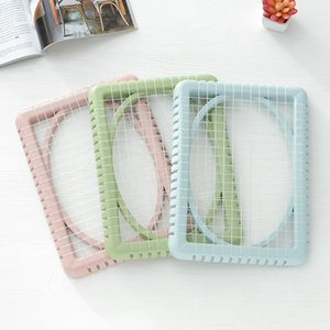 Wholesale Summer Seat Cooling Pad Mesh Seat Mat Plastic Air Breathable Chair Cushions Pads for Students Office Worker K1058 B