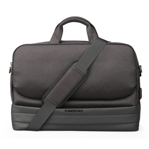 Kingsons New Men 15.6 Inch Laptop Briefcase Bag Handbag Mens Polyester Briefcase Men's Office Bags Business Computer Bags