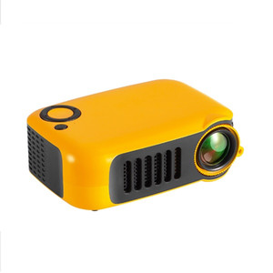 Wholesale A2000 Mini Portable Projector lumen Supports P LCD Hours Lamp Life Home Theater Video Projector for Power Bank