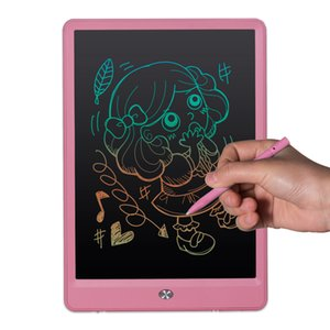 Wholesale 10 inch Drawing Board Writing Tablet LCD High Light Blackboard Paperless Notepad Memo Handwriting Pads With Upgraded Pen Gift for Kids