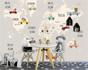 Wholesale papel de parede Cartoon background wall custom wall paper d mural papers home decor d wallpaper